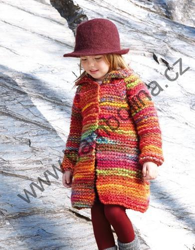 KATIA - USHUAIA - dívčí pletený kabátek  c03154693b