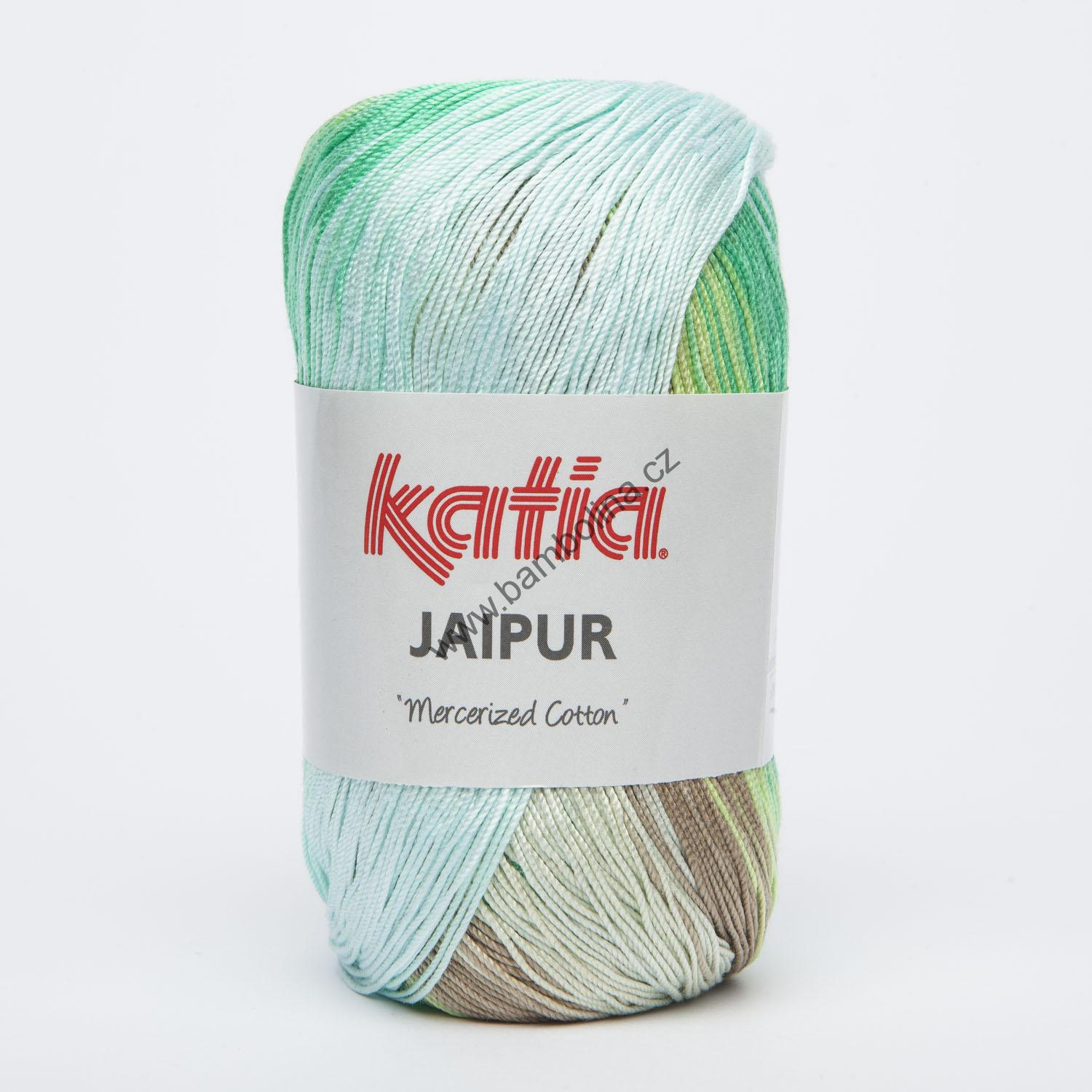 KATIA - JAIPUR 250 -  Green-Yellow green-Beige-Off-white