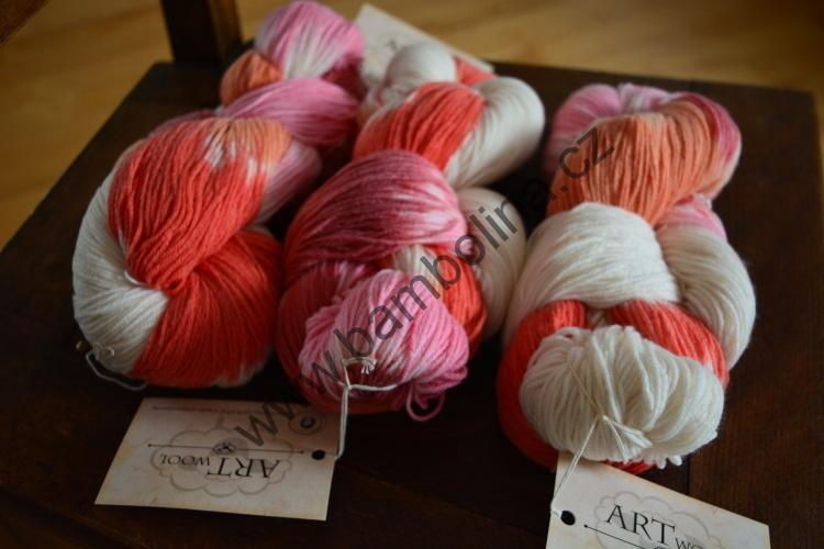 ADR - ARTWOOL 110 - multicolor pink