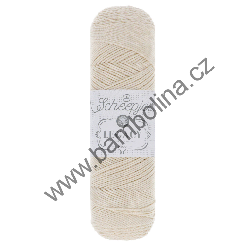 SCHEEPJES - LEGACY MERCERISED COTTON - 6 - ecru