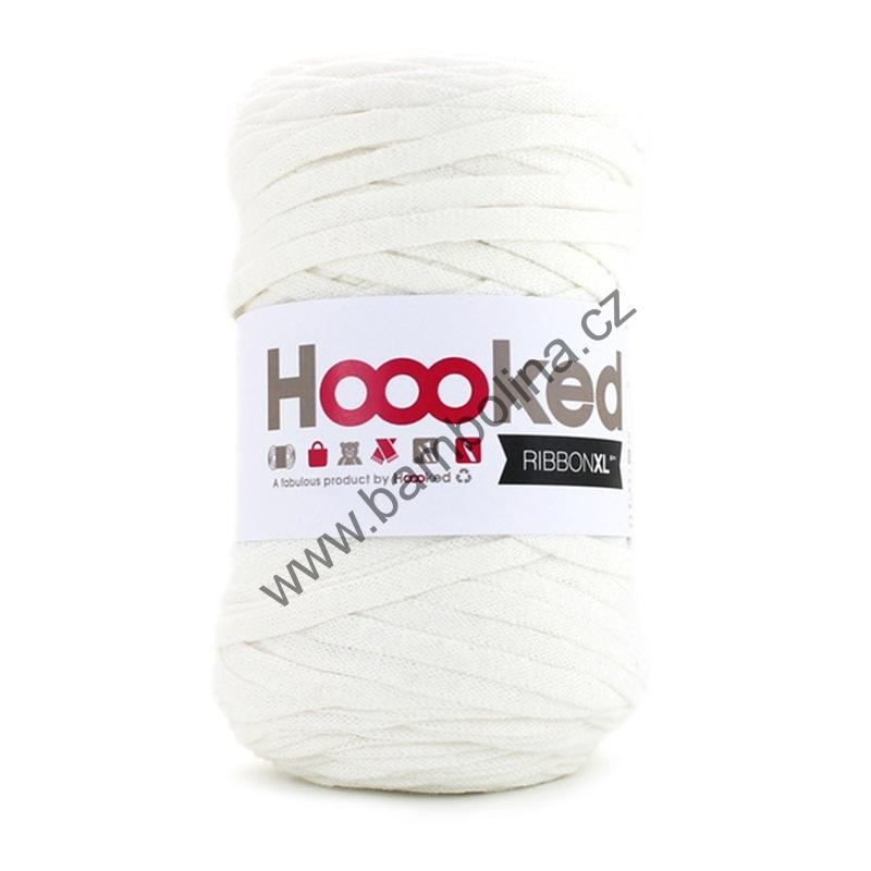 HOOOKED - RIBBON XL - Pearl White