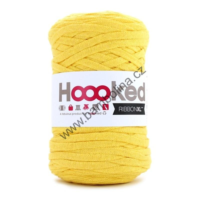 HOOOKED - RIBBON XL - Lemon Yellow