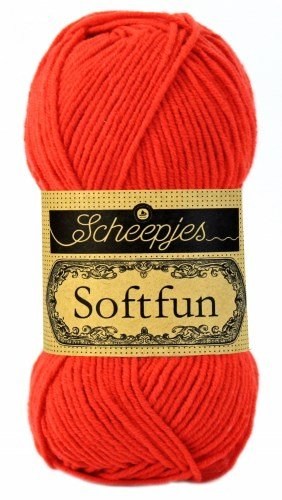 SCHEEPJES - SOFTFUN 2410 Hot Red