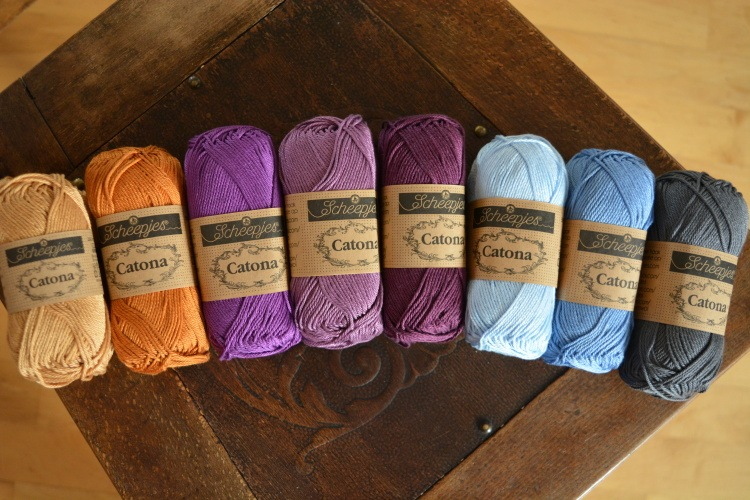 SCHEEPJES - CATONA - IN THE YARN GARDEN CAL (8ks) - ROYAL