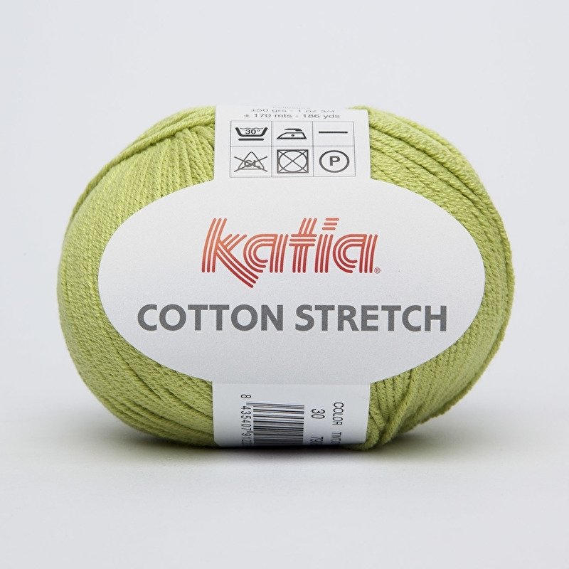 KATIA - COTTON STRETCH 30 - pistáciová