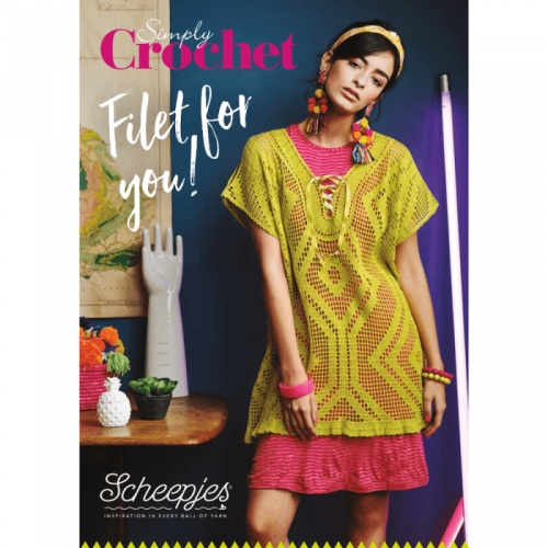 SCHEEPJES - Simply Crochet - Filet for you ! (EN)