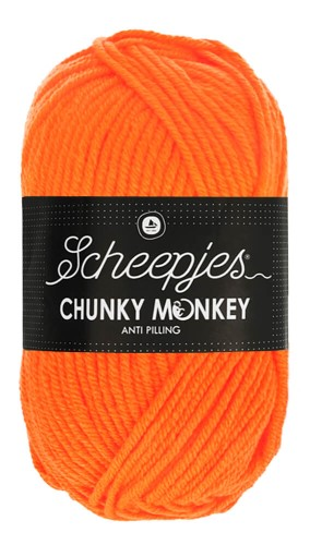SCHEEPJES - CHUNKY MONKEY 1256 neon orange