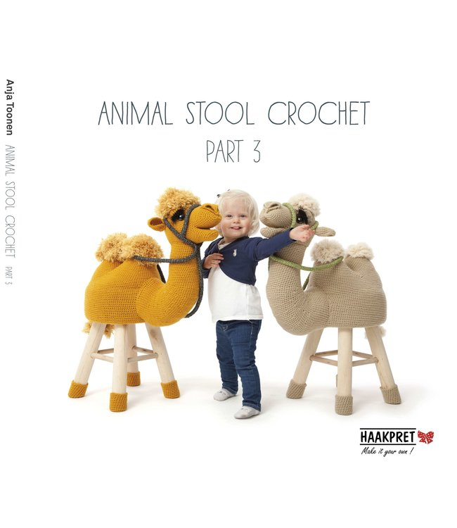 Animal Stool Crochet - PART 3 (EN)