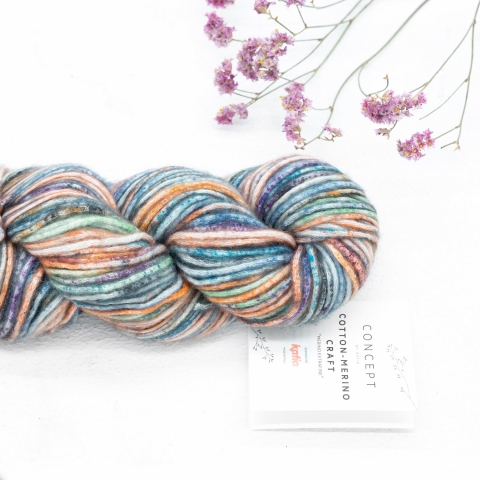 KATIA - COTTON-MERINO CRAFT 205