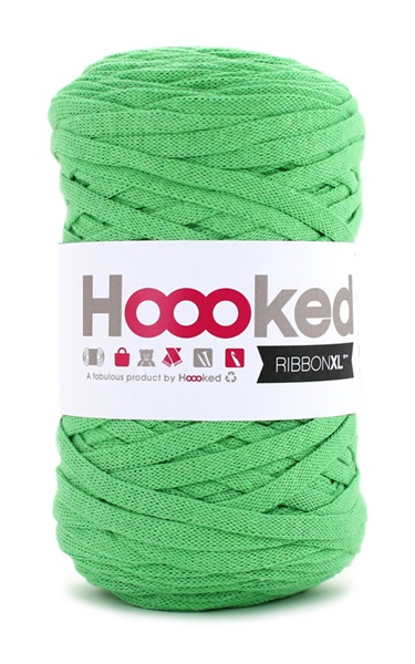 HOOOKED - RIBBON XL - Salad Green