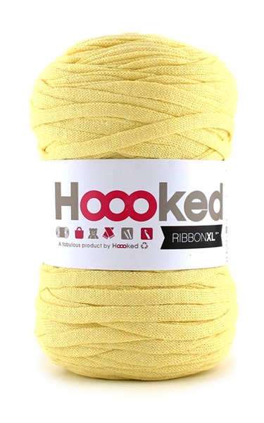 HOOOKED - RIBBON XL - Frosted Yellow