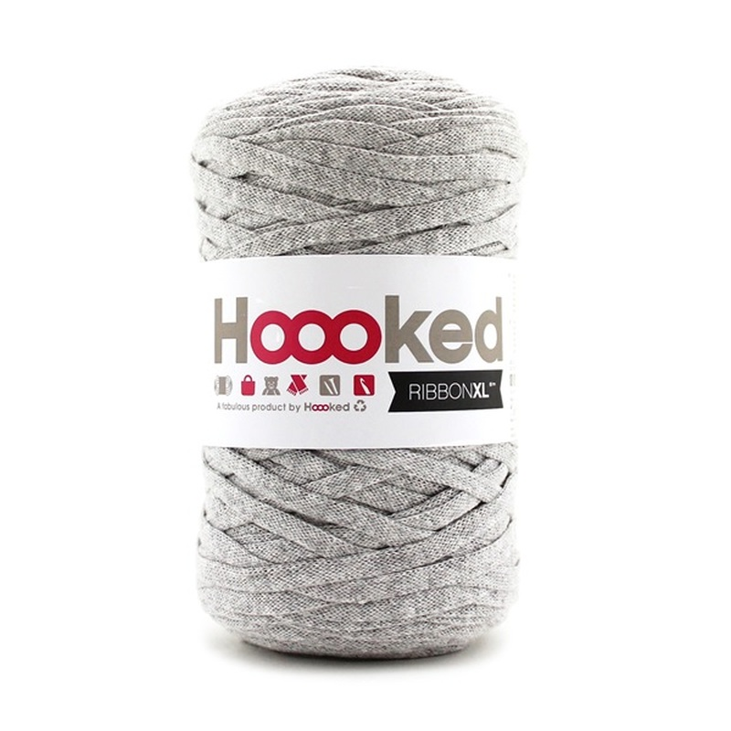 HOOOKED - RIBBON XL - Silver Grey