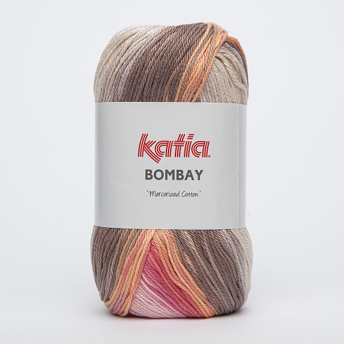 KATIA - BOMBAY 2029 - Coral-Orange-Brown