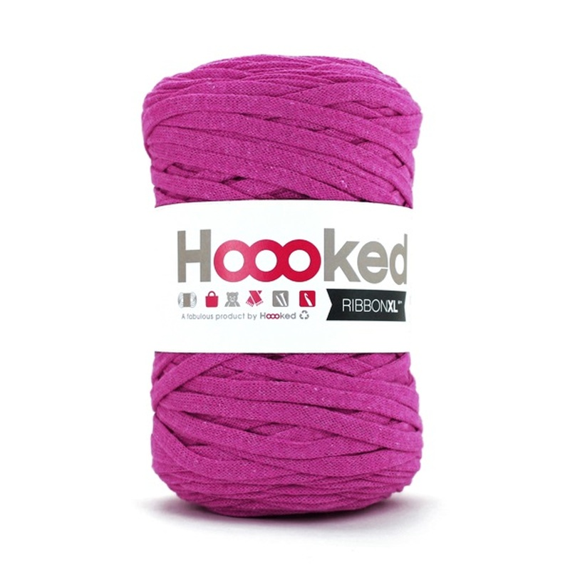 HOOOKED - RIBBON XL - Crazy Plum