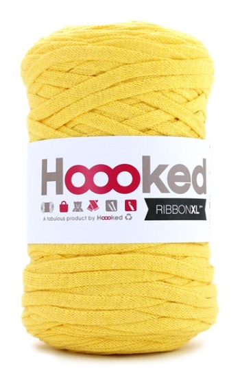 HOOOKED - RIBBON XL - Lemon