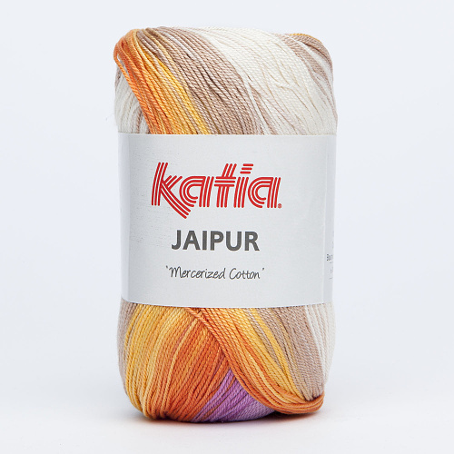 KATIA - JAIPUR 203 - Mauve-Beige-Yellow-Orange